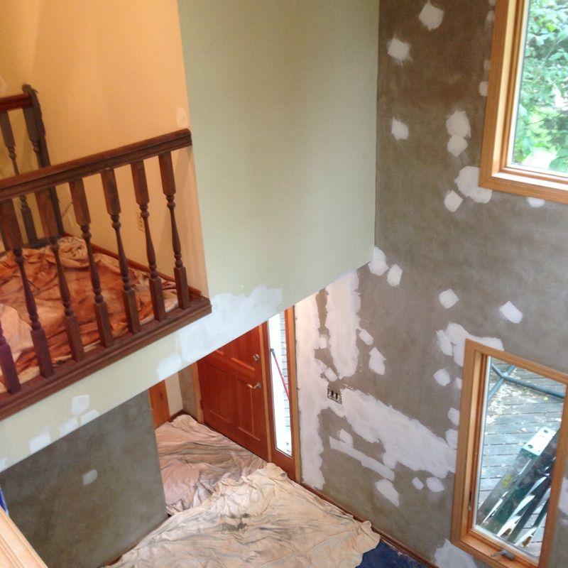 Always Lots of Wall Repairs